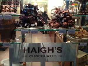 Haigh you! Eat me, eat all of us. It might be a rocky road, but you will enjoy the journey.