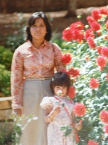 My amazing mum, Cordelia. Always told me to dress well and 'are you going out with your hair looking like that?'.