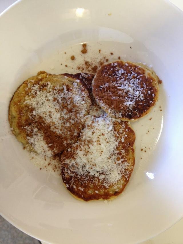 Lupin flour pancakes